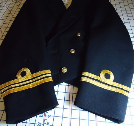 Military and Naval Uniform Alterations, Attaching Medals, Navy Dress Blues